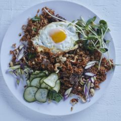 Brown rice nasi goreng