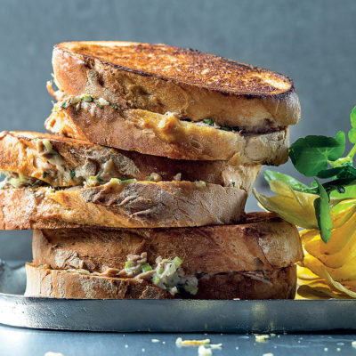 Toasted tuna mayo
