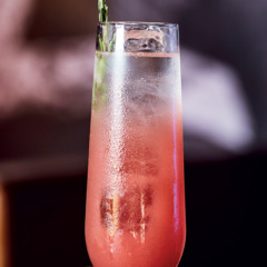 Watermelon and rosemary cocktail