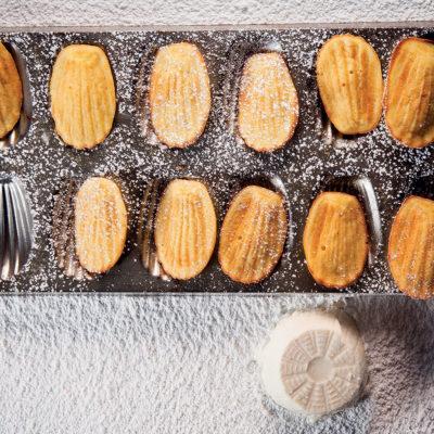 Ricotta madeleines