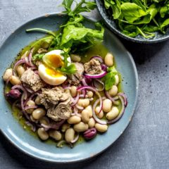 Tuna-and-bean salad