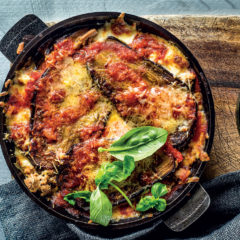 Tuna-and-brinjal bake