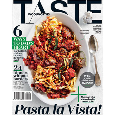 The June issue of TASTE has arrived!
