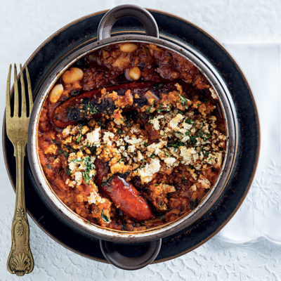 Bean-and-chorizo cassoulet