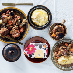 Oxtail with creamy polenta