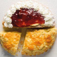 Sweet-and-savoury scone cake