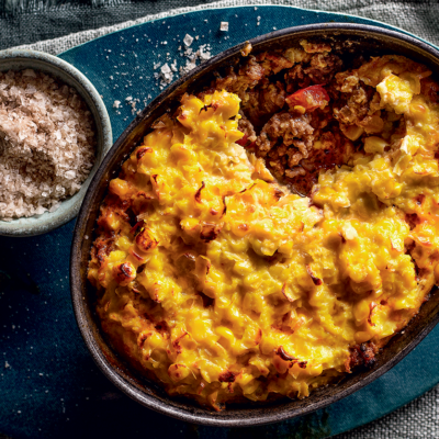 Chilean-spiced beef-and-corn pie