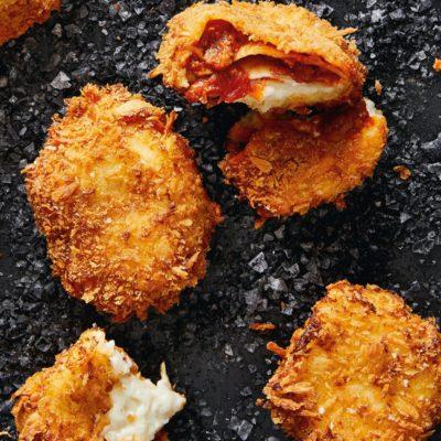 Deep-fried lasagne