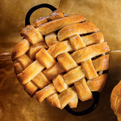 Hot-water pastry