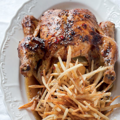 Peri-peri roast chicken