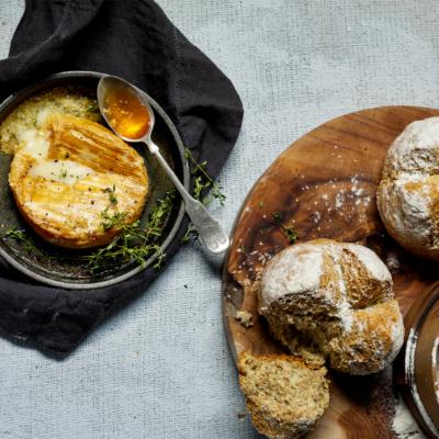 No-knead soda bread recipe