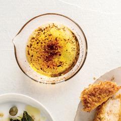 Harissa-spiced pork chops