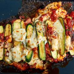 Baby marrow lasagne