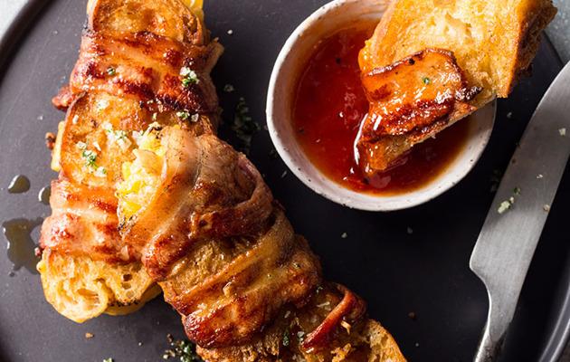 bacon-wrapped braaibroodjie recipe