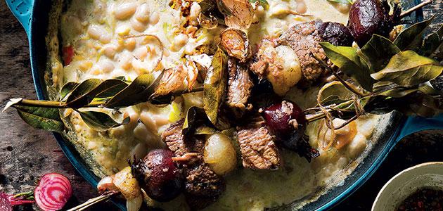BEEF BAY LEAF KEBABS recipe