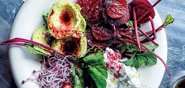 Bright and tangy: the beetroot dressing recipe