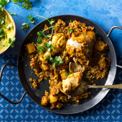 Cape Malay chicken biryani casserole