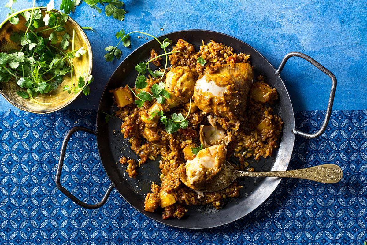 Cape Malay chicken biryani casserole recipe