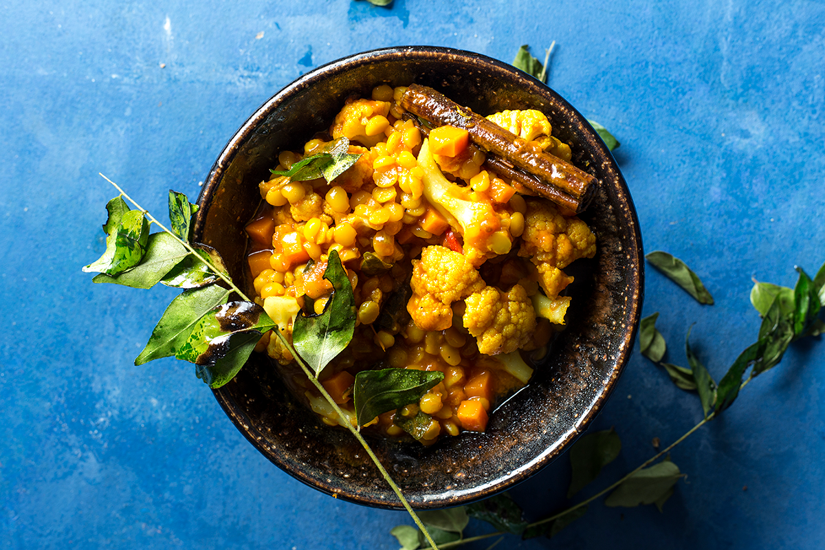 Dhal and cauliflower curry recipe