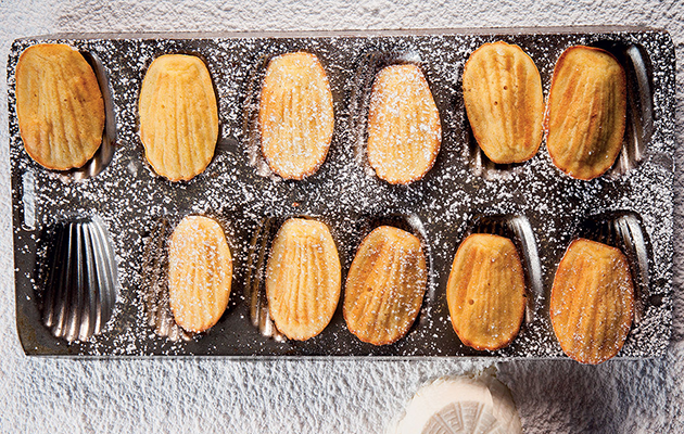 French-inspired ricotta madeleine recipe