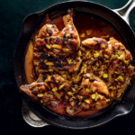 Indian chicken roasted in atchar recipe