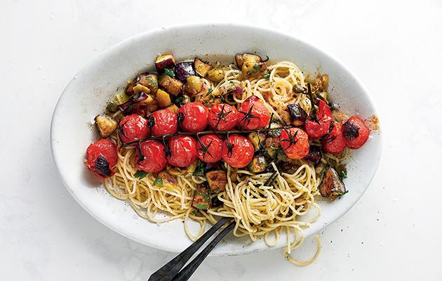 Italian-inspired tomato caponata recipe