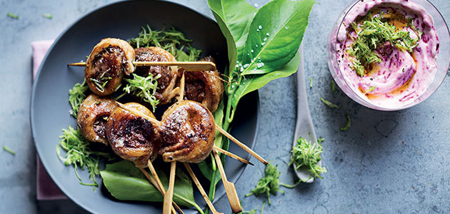 ROSEMARY LAMB KEBABS recipe