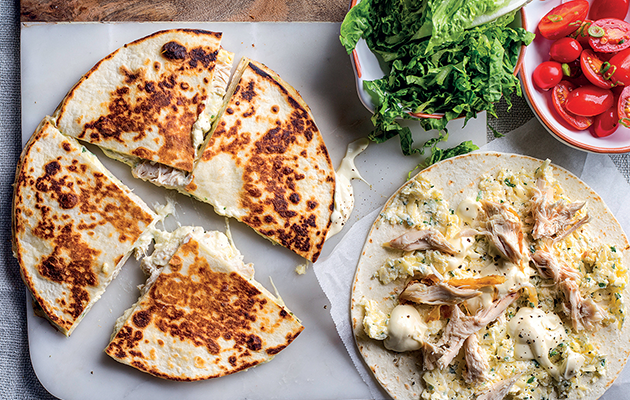 Mexican-inspired quesadillas recipe