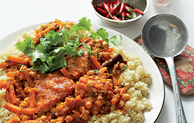 Moroccan-inspired fish couscous recipe