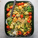 Tenderstem Broccoli-and-ricotta pasta bake recipe