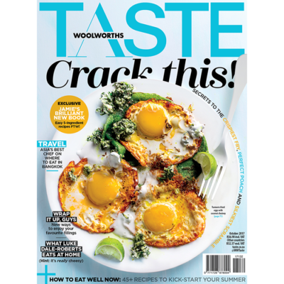 The October issue of TASTE has landed!