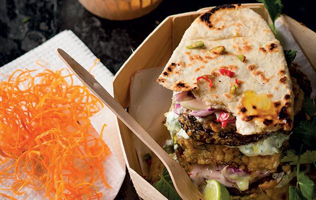 The veggie burger recipe