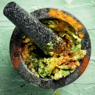 """Parusha Naidoo's """"gut-healing"""" guacamole"""
