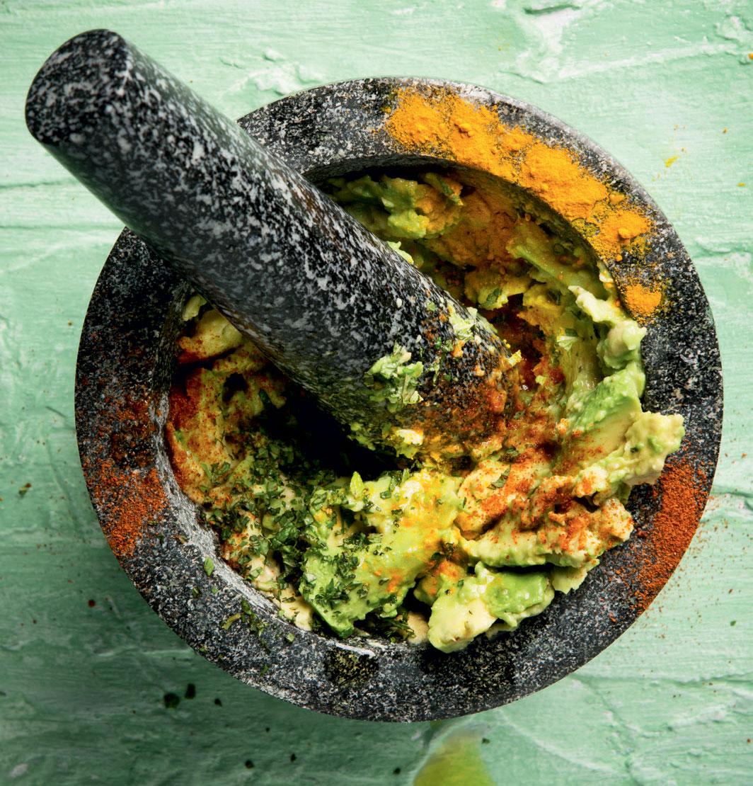 """Parusha Naidoo's """"gut-healing"""" guacamole recipe"""