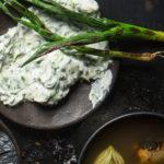 Smoky spring onion dip recipe