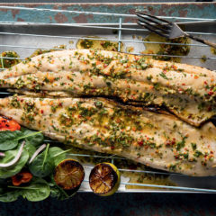 Sticky chilli smoked snoek