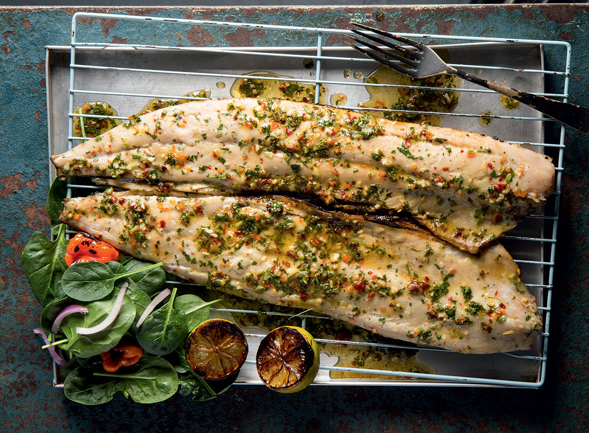 Sticky chilli smoked snoek recipe
