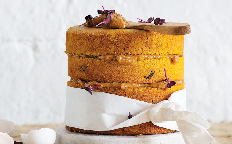 Sweet potato bakes: cake