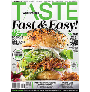 The November issue of TASTE has arrived!