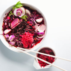 Beetroot broth