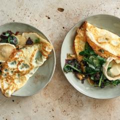 Egg-white omelette