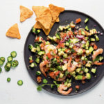 Play-play prawn-and-avocado ceviche recipe