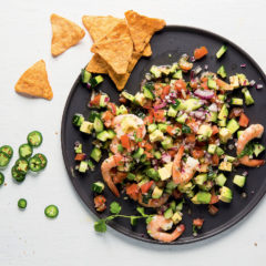 Play-play prawn-and-avocado ceviche