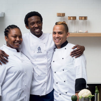 Challenge accepted: Three former culinary bursary winners battle it out in the TASTE kitchen