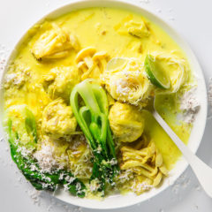 Turmeric-and-coconut broth