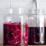 Red cabbage pickle recipe