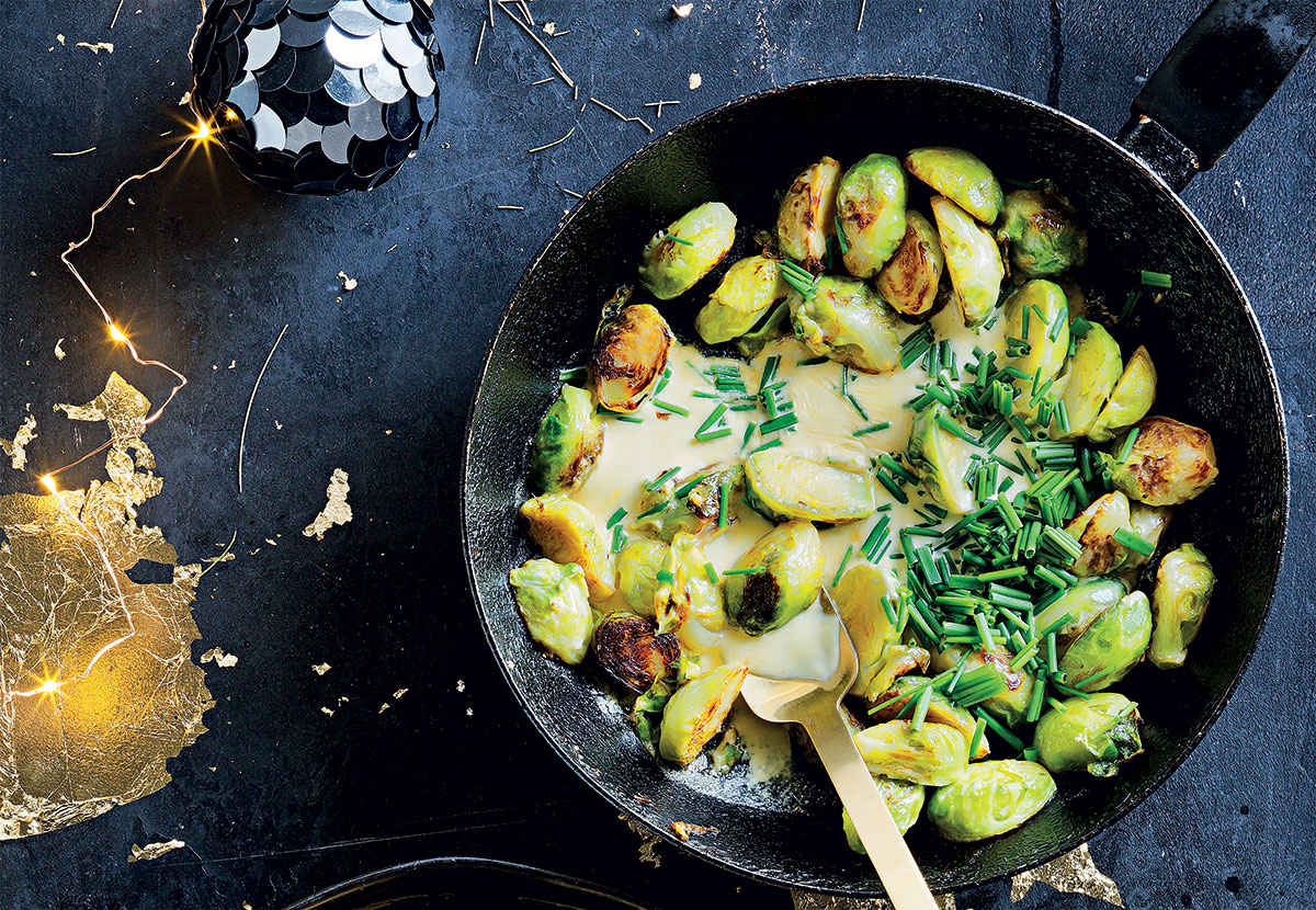 Creamy Brussels sprouts recipe