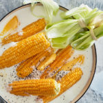 Milk-and-butter-poached corn on the cob recipe