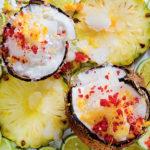 Tropical coconut snow recipe