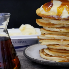 Whip up the ultimate flapjack stack